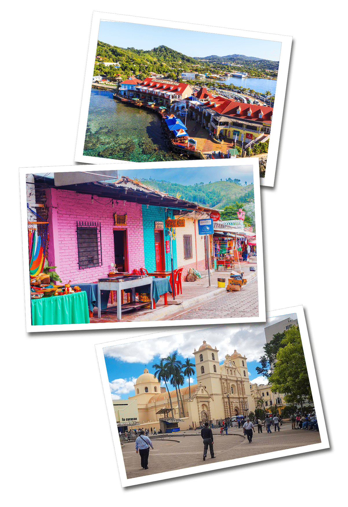 Honduras postcards