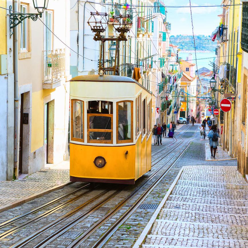 Lisbon on a Tram