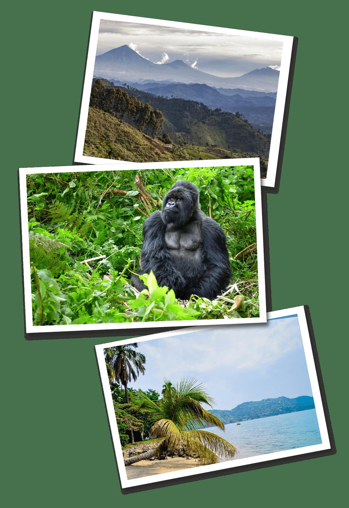Rwanda postcards