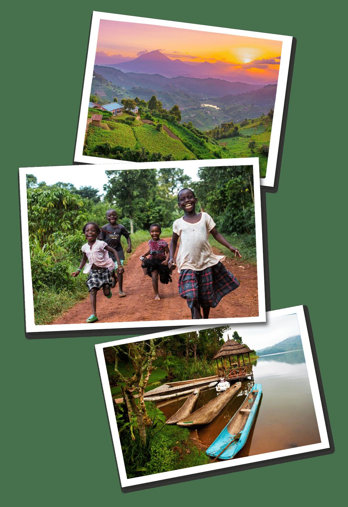 Uganda postcards