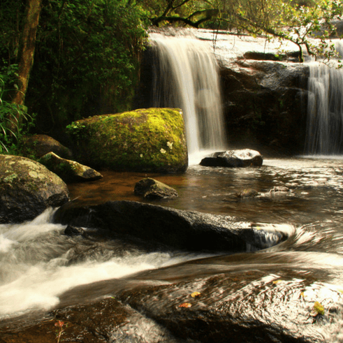 nyika national park waterfall malawi