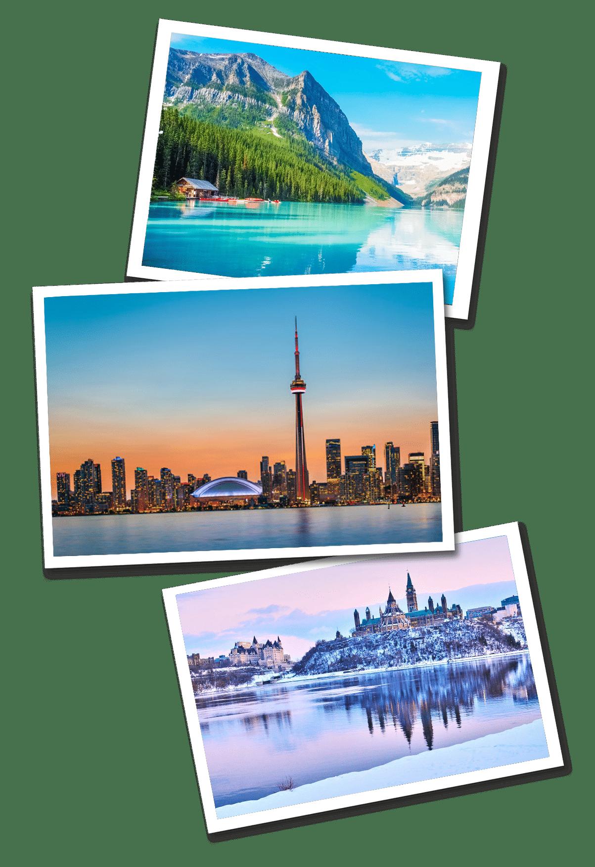Postcards canada