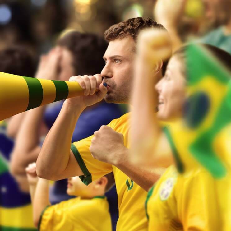 soccer match brazil