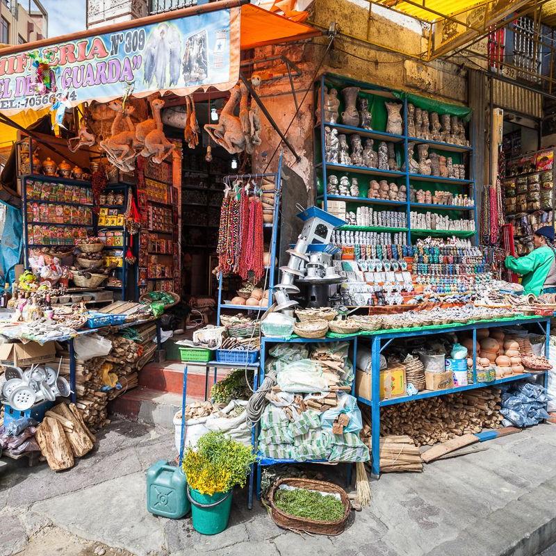 souvenirs on Calle Sagarnaga