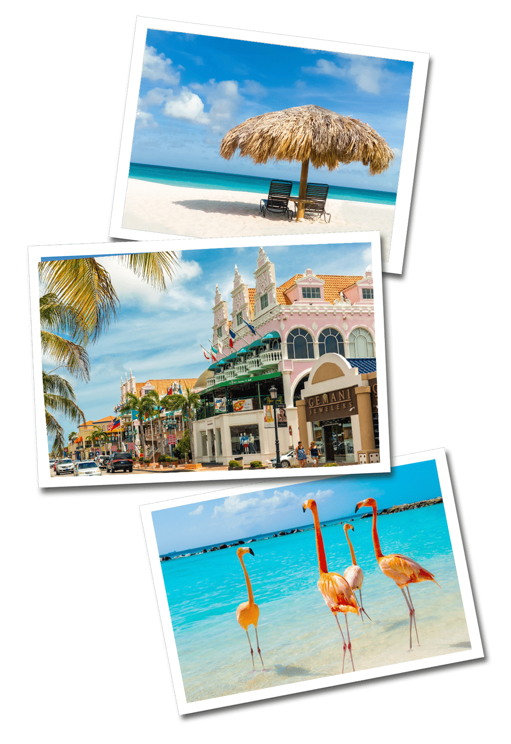 Aruba postcards