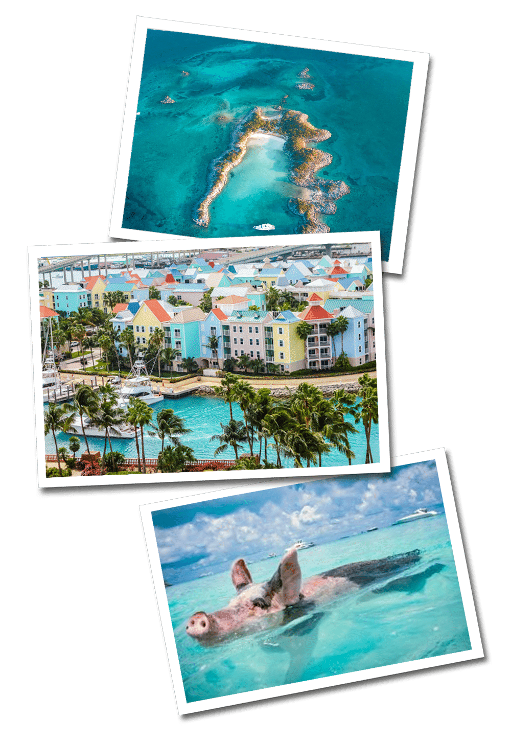 Bahamas postcards