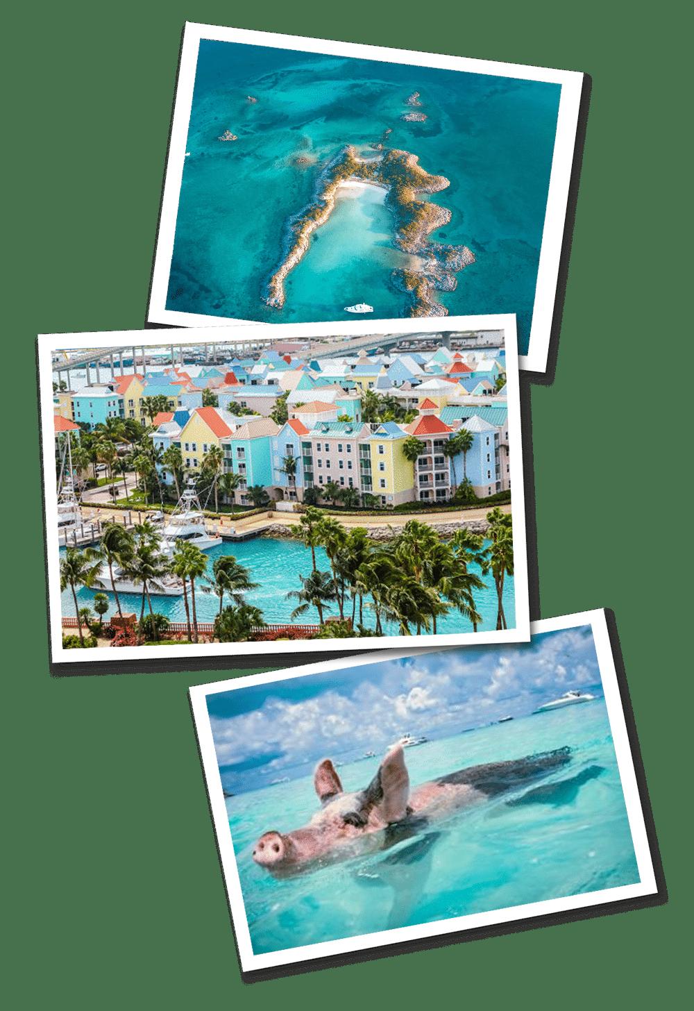 Bahamas postcards