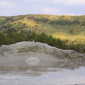 Berca mud volcanoes romania