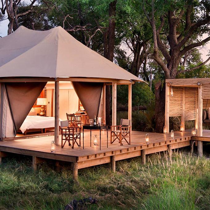 Botswana eco friendly accommodation