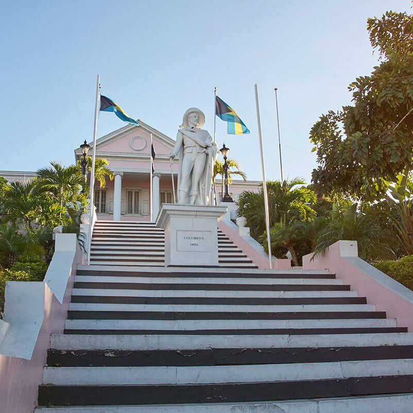 Columbus monument bahamas