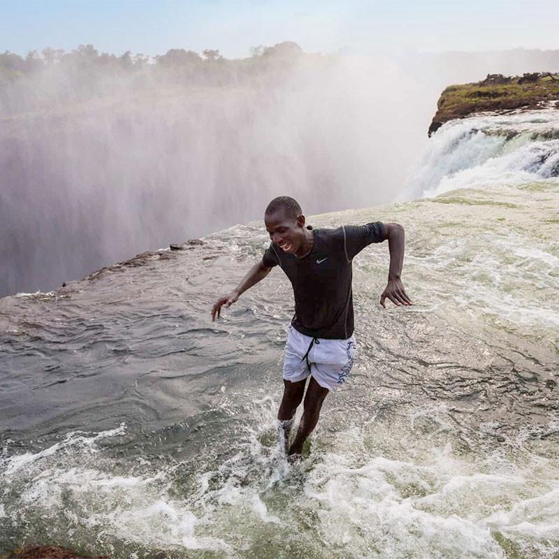 Devils pool victoria falls zimbabwe