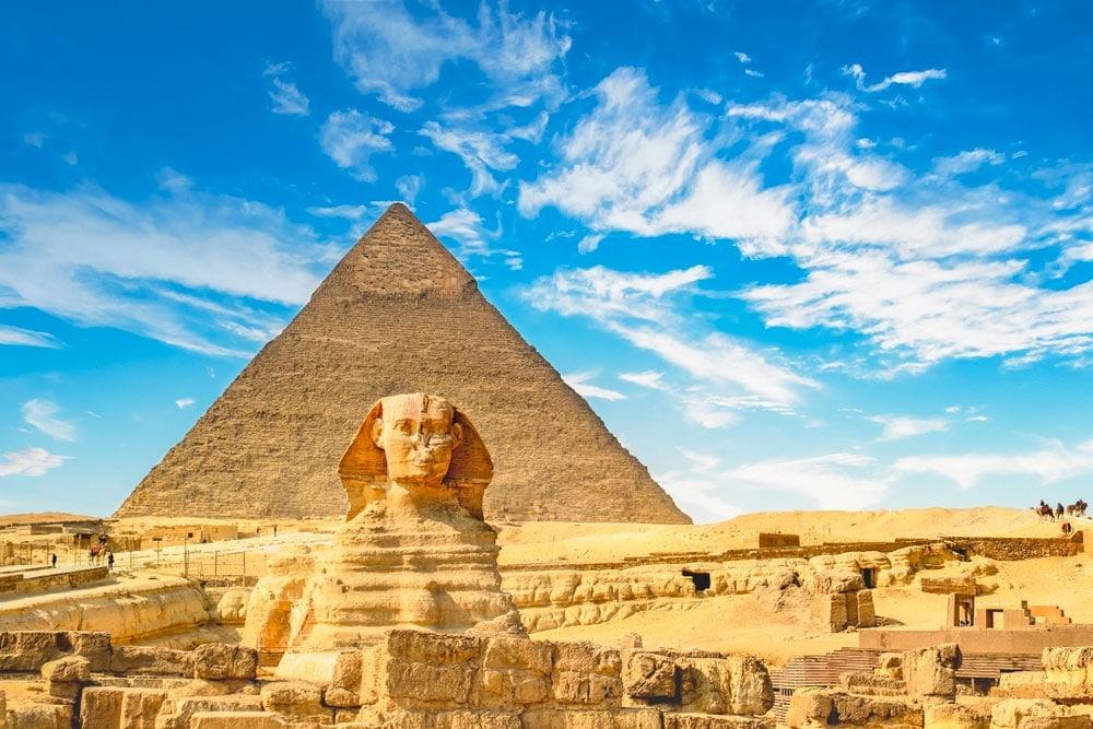 Egypt pyramids giza