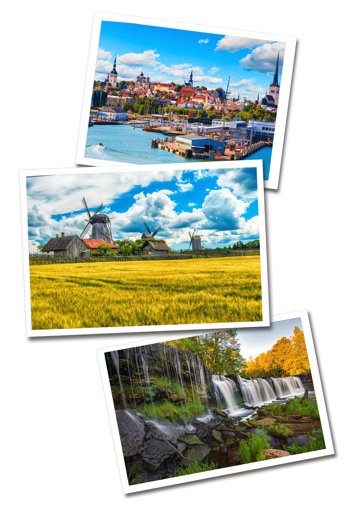 Estonia postcards
