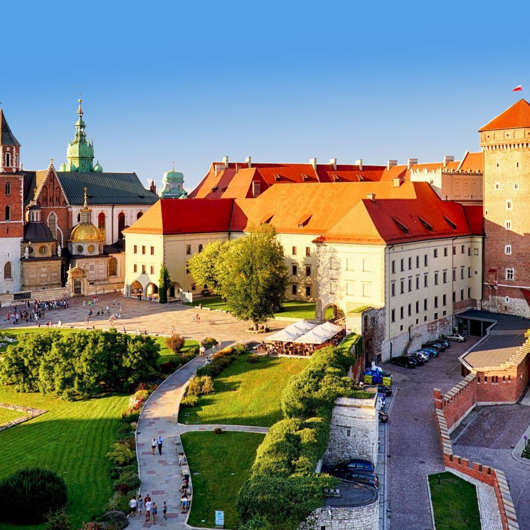 Krakow Poland landscape castle wanderlust