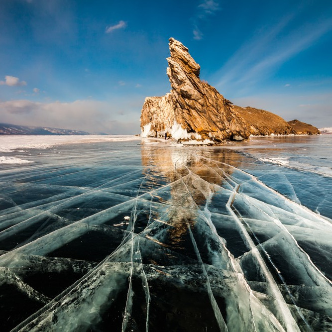 Lake baikal russia siberia
