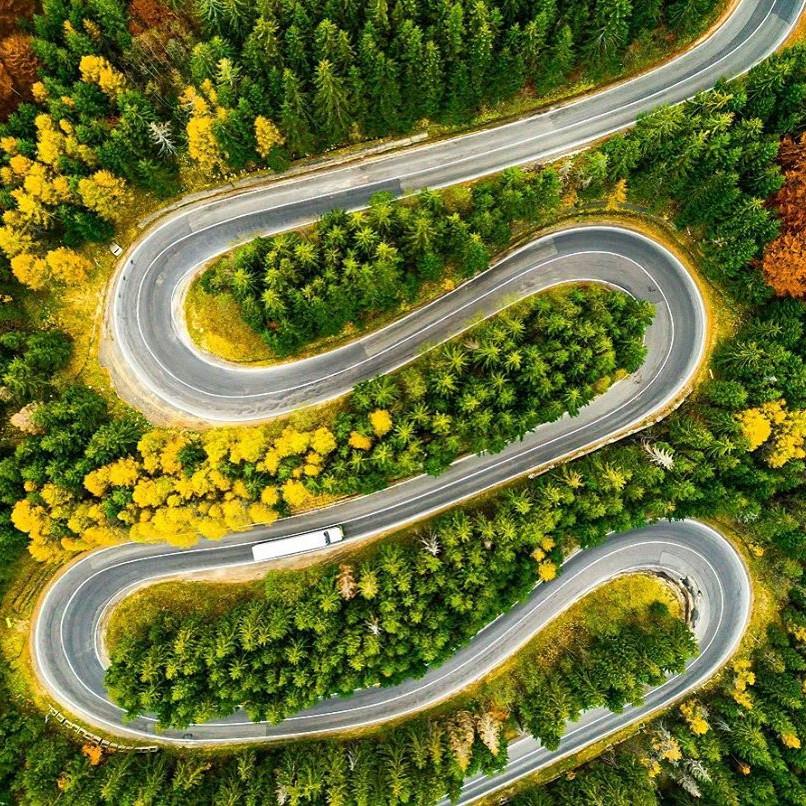 Transfagarasan Highway romania