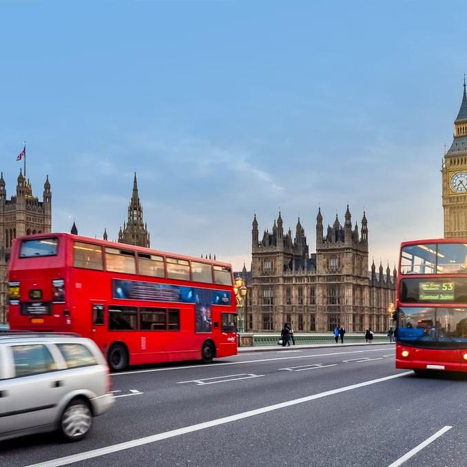 London street wanderlust