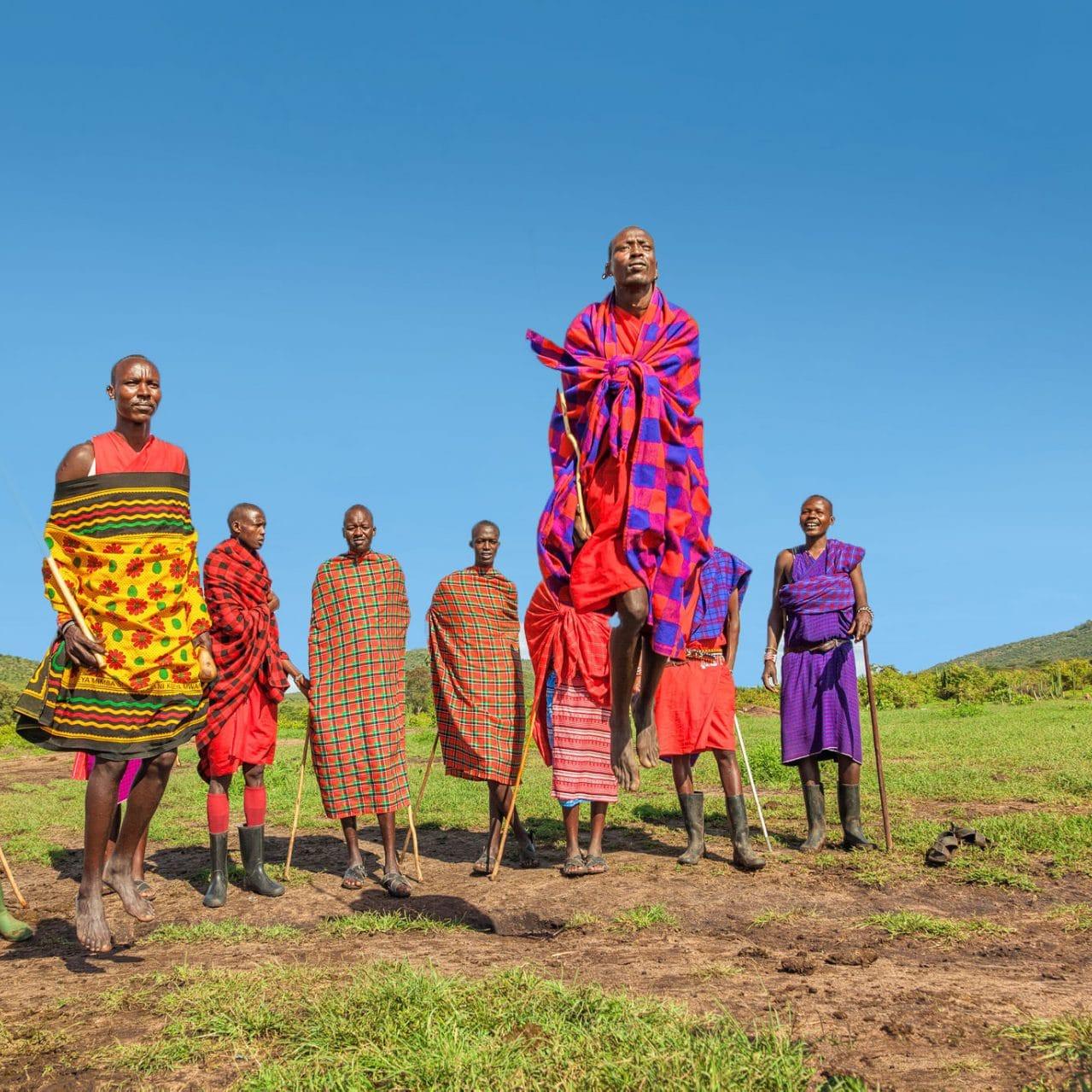 Maasai People Tanzania