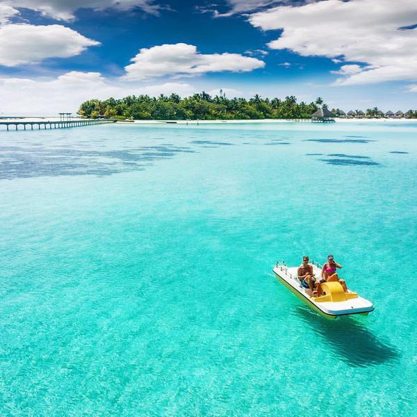 Maldives Island Hoping.
