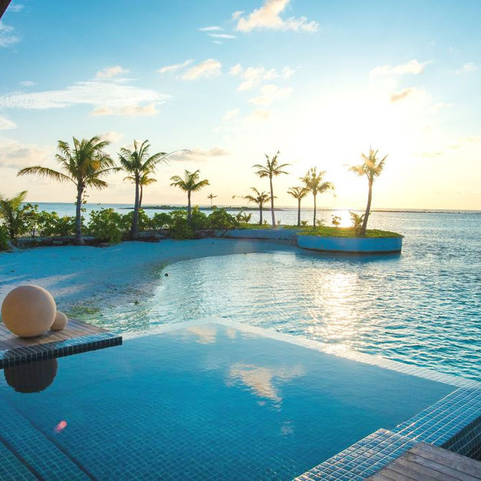 Maldives luxury villas