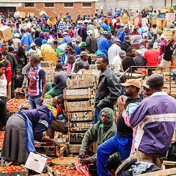Mbare Musika Market Zimbabwe