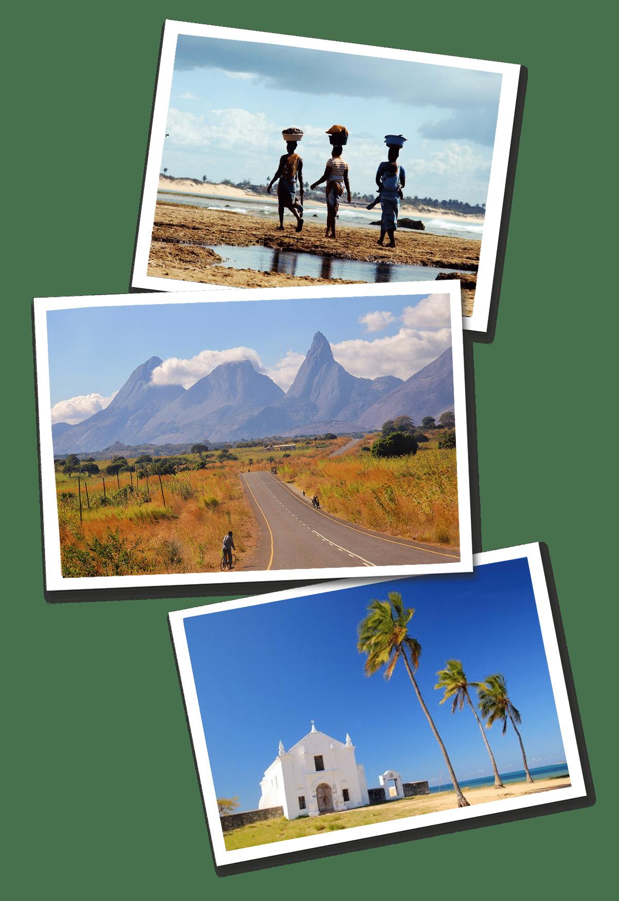 Mozambique postcards