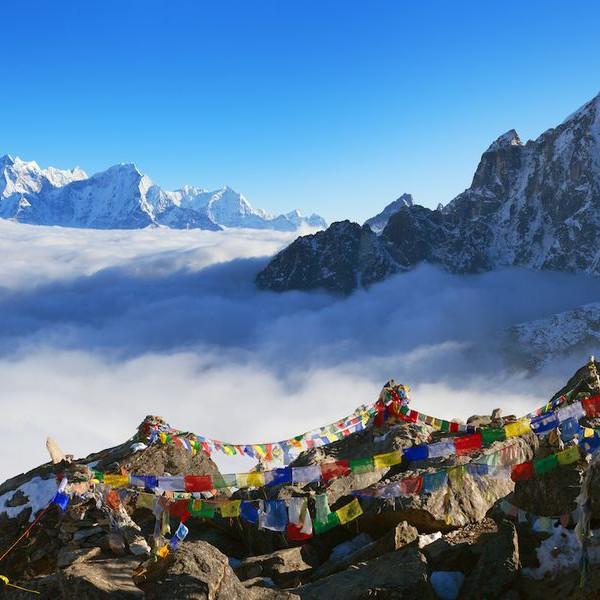 Nepal travel landscape