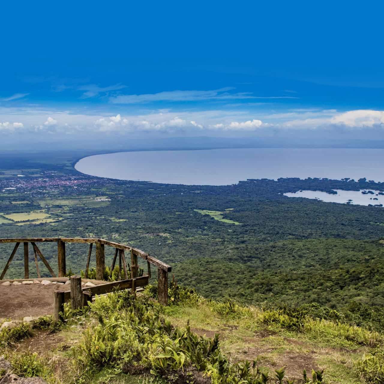 Nicaragua lake central america travel guide