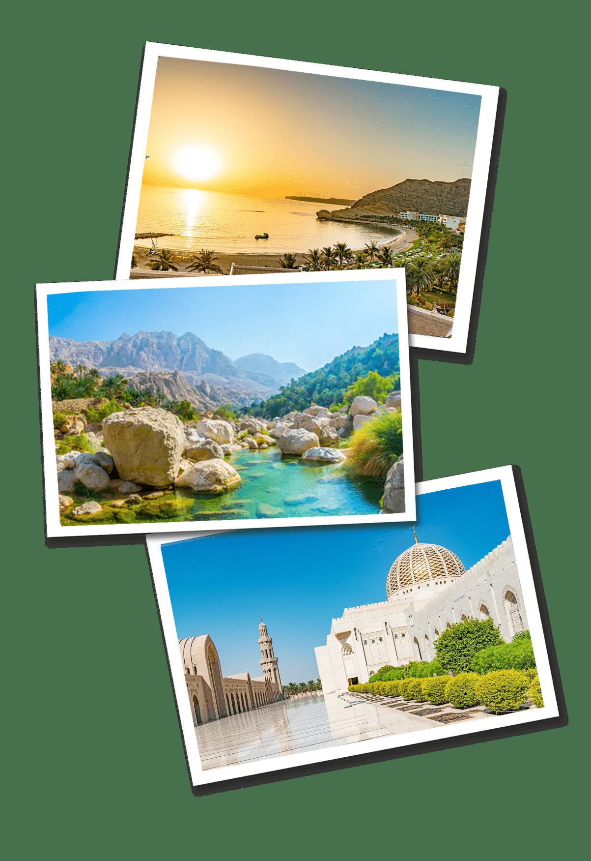 Oman postcards