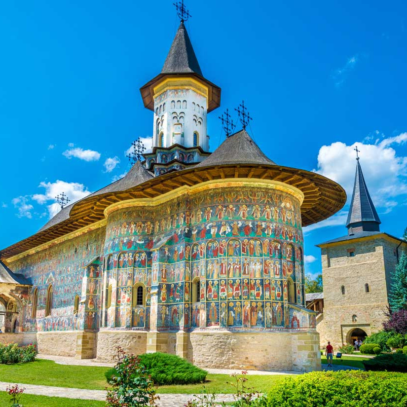 Painted Monasteries of Moldavia