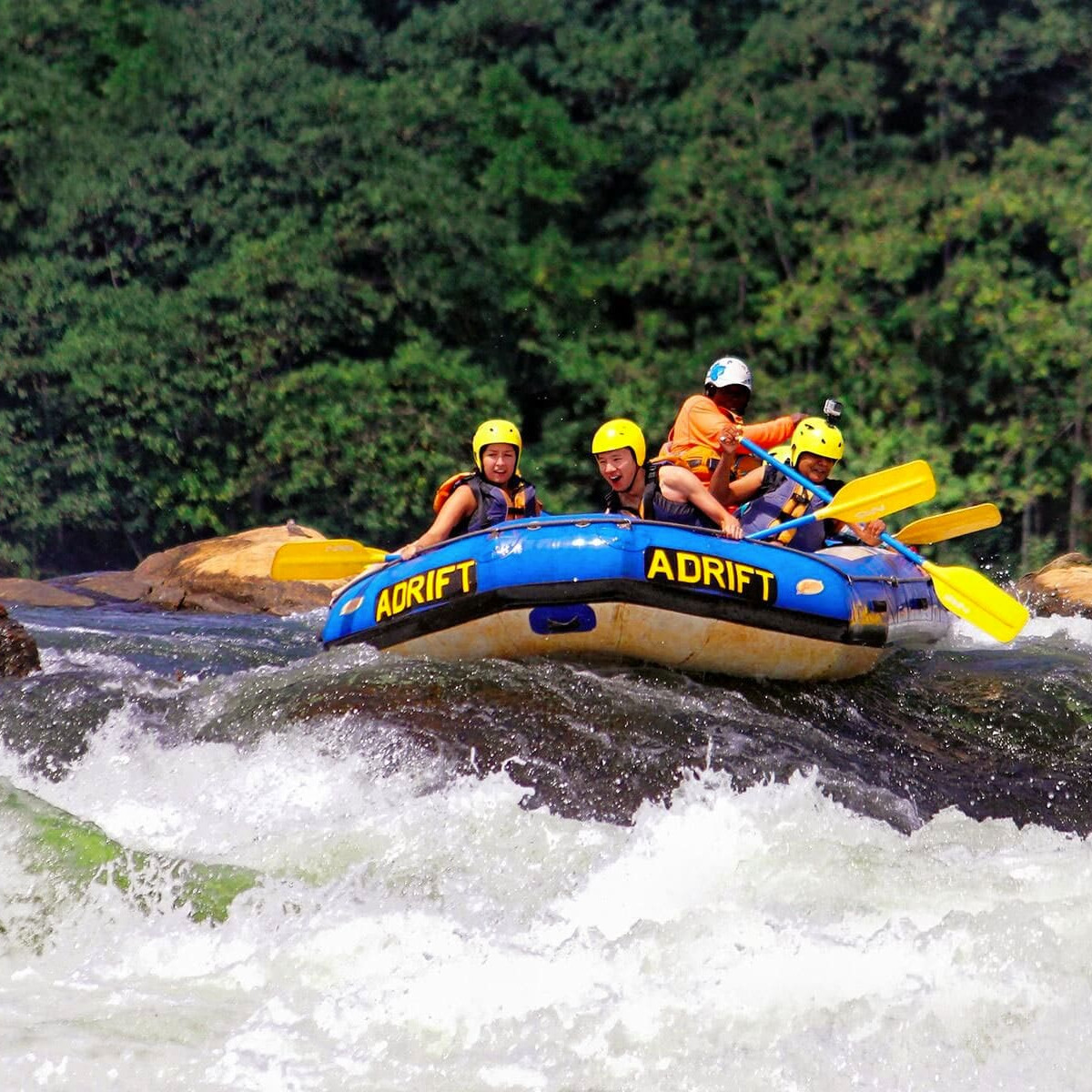 Rafting on the nile uganda