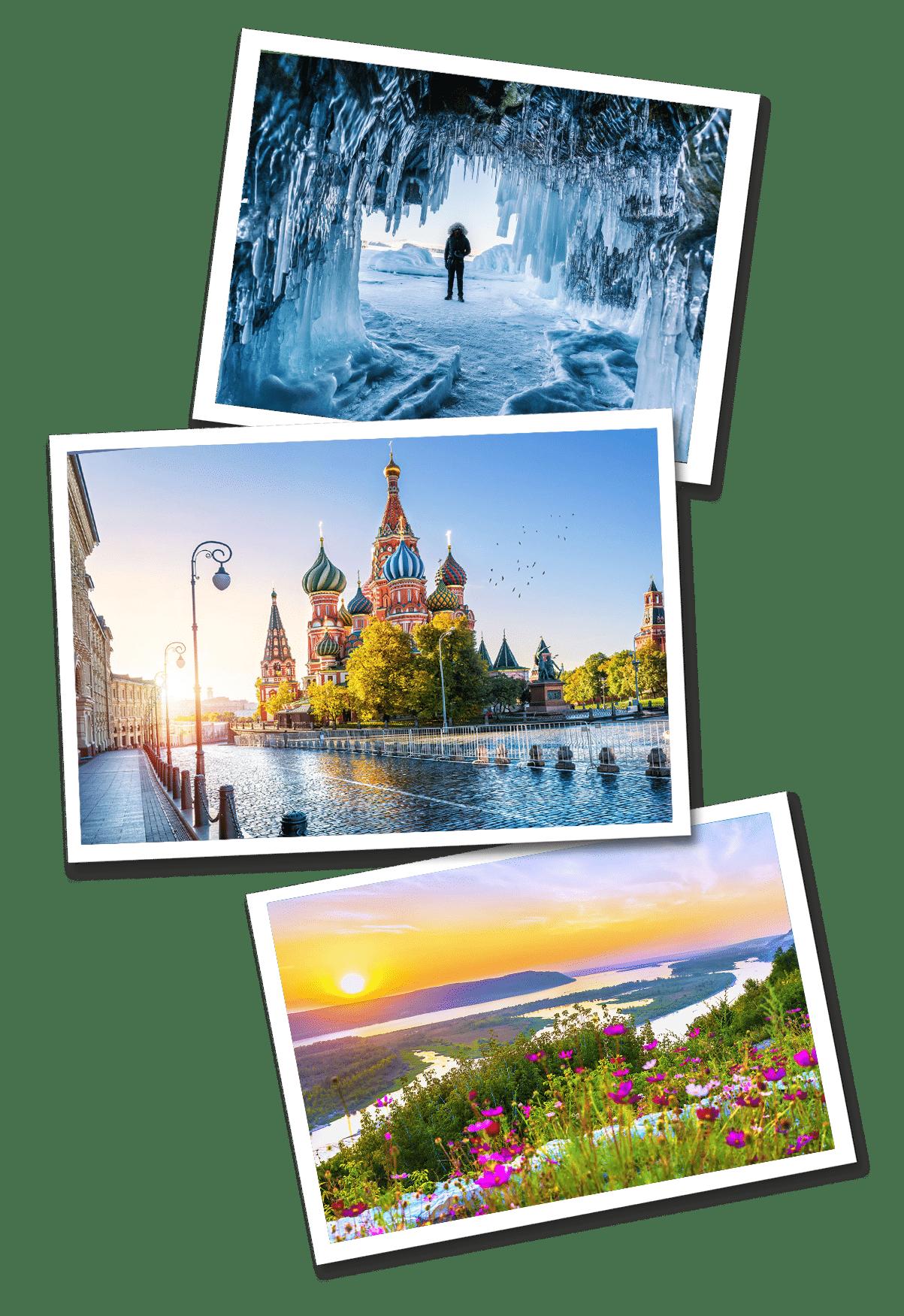 Russia postcars