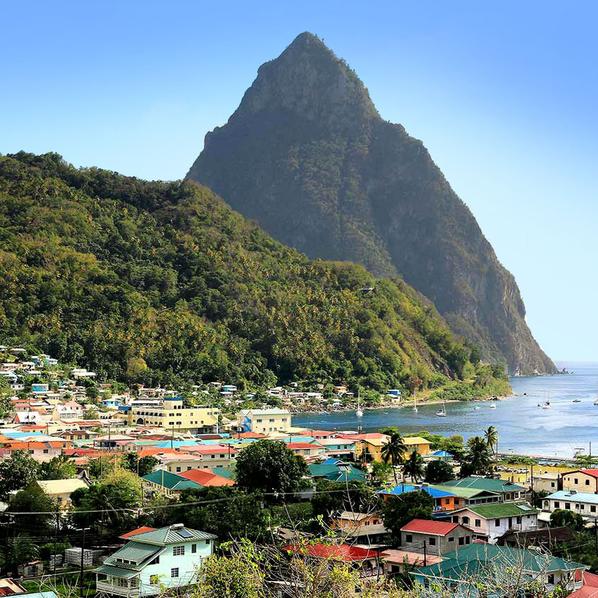 St lucia the caribbean travel guide gros piton
