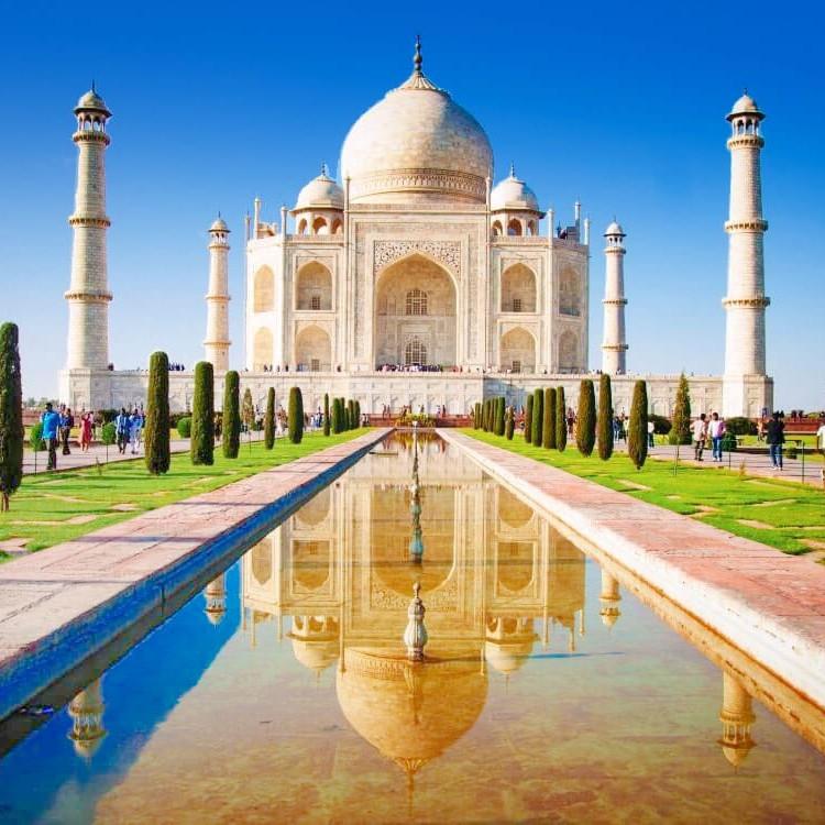 Taj Mahal india asia travel guide