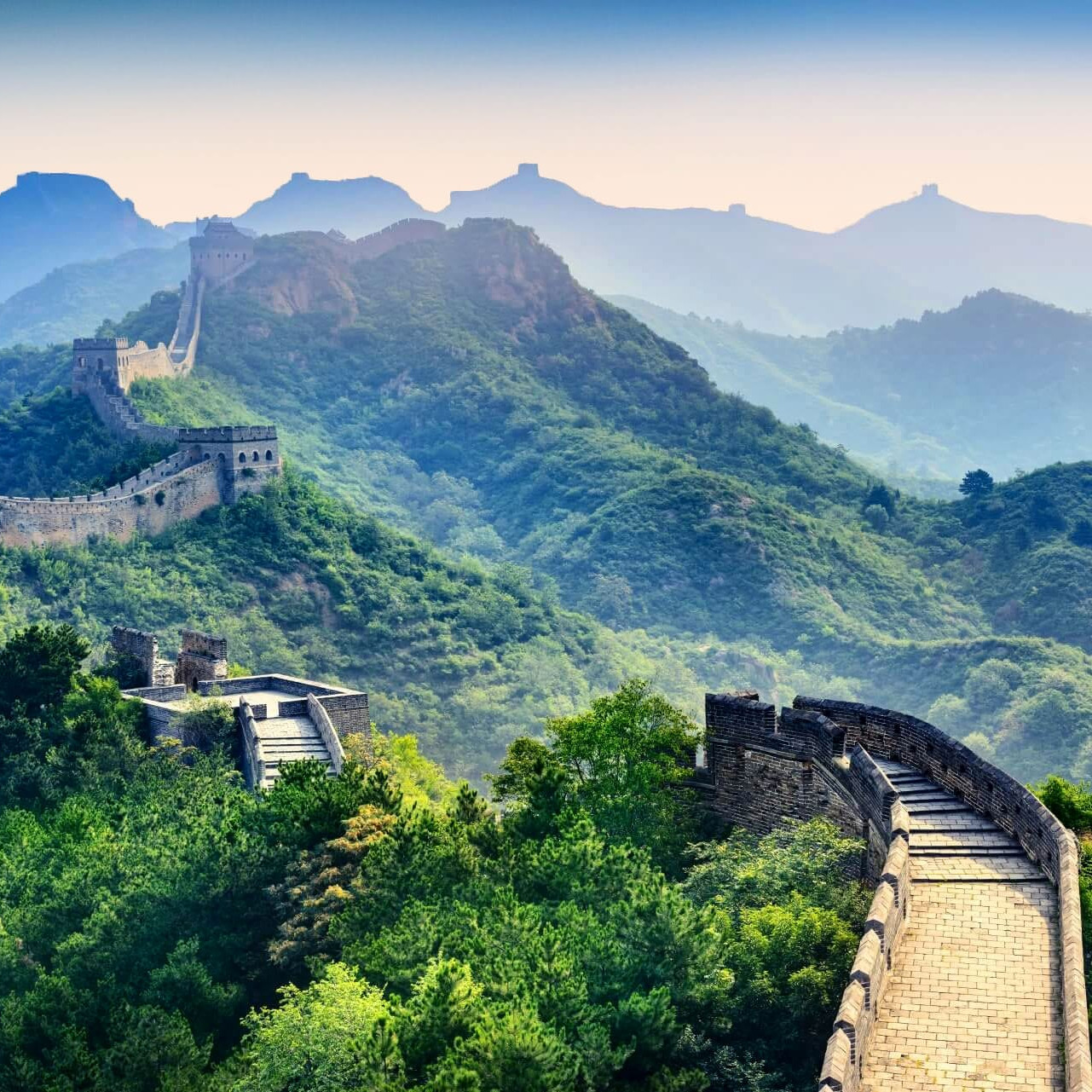 The great wall china asia travel guide