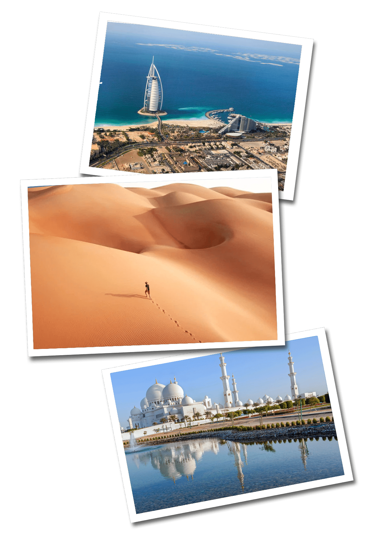 United arab emirates postcards
