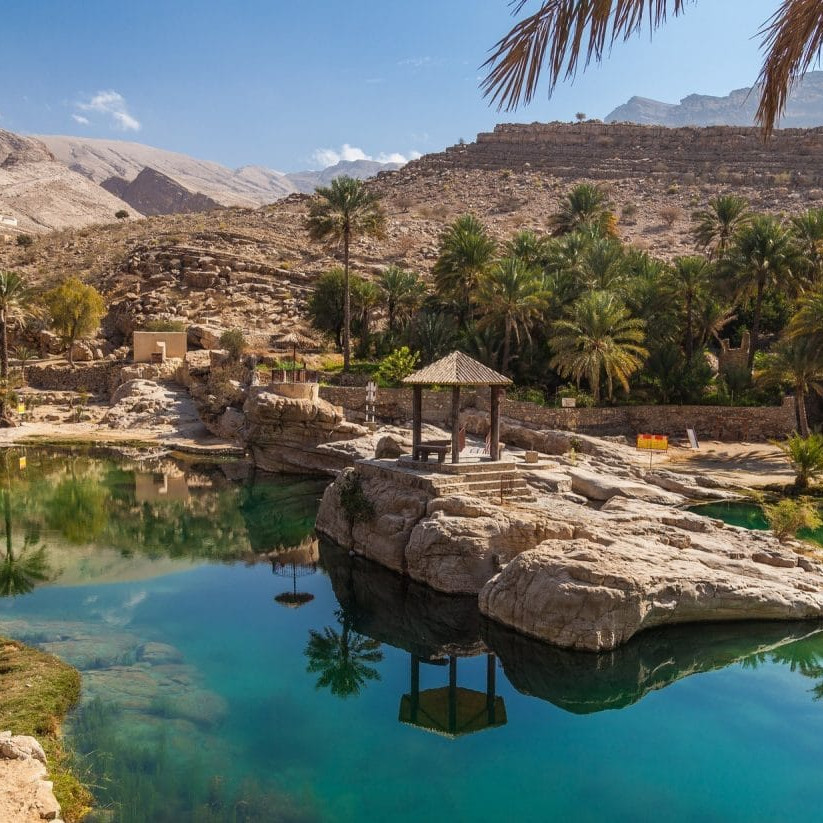 Wadi Bani Khalid oman