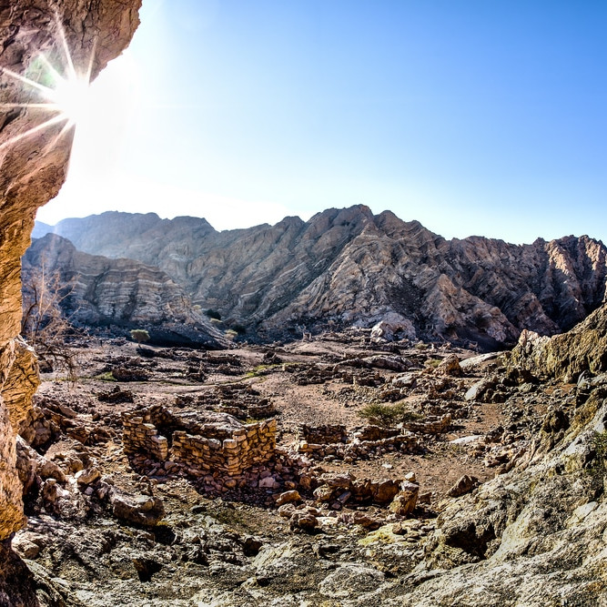 climbing Ras Al Khaimah