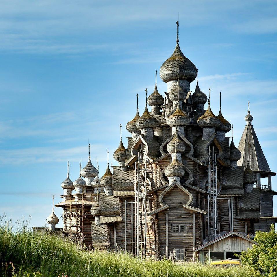 kizhi island architecture