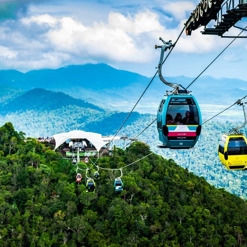 langkawi sky bridge and cable car