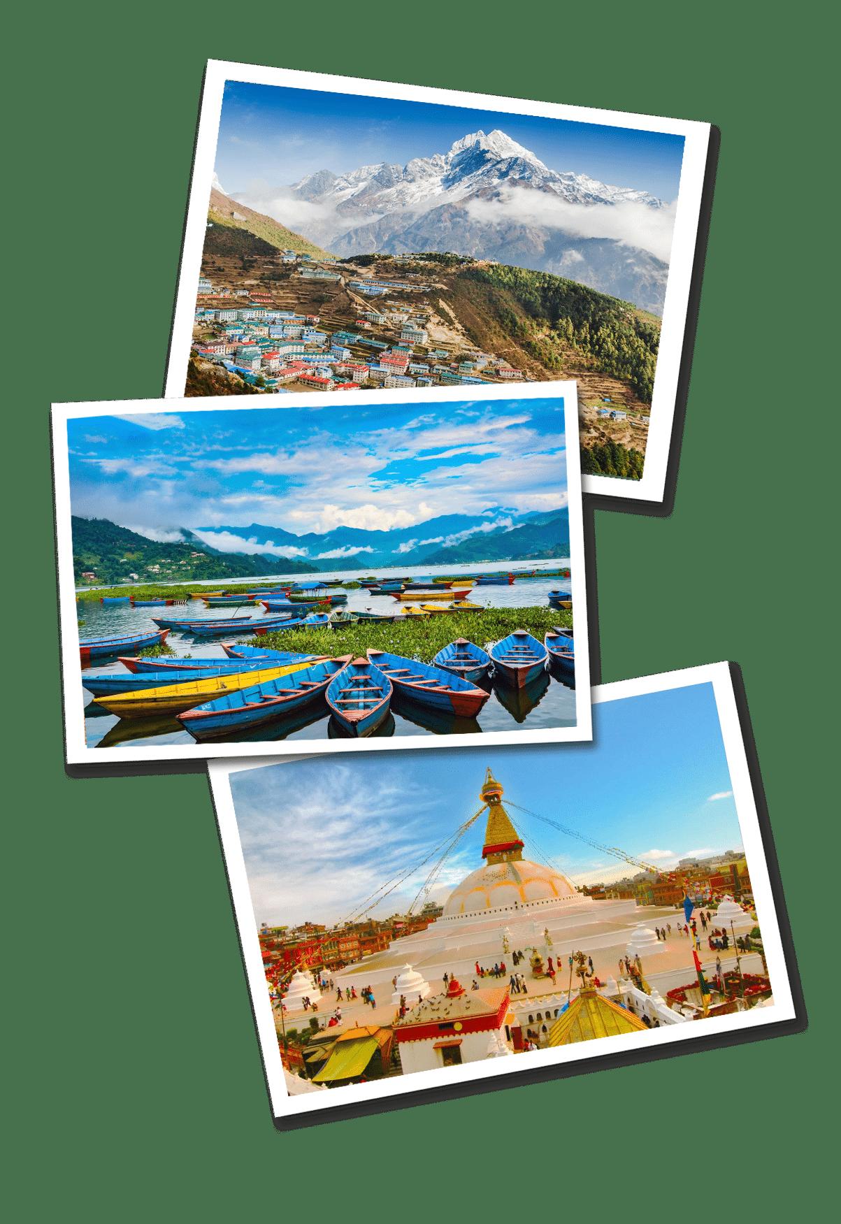 Nepal postcards