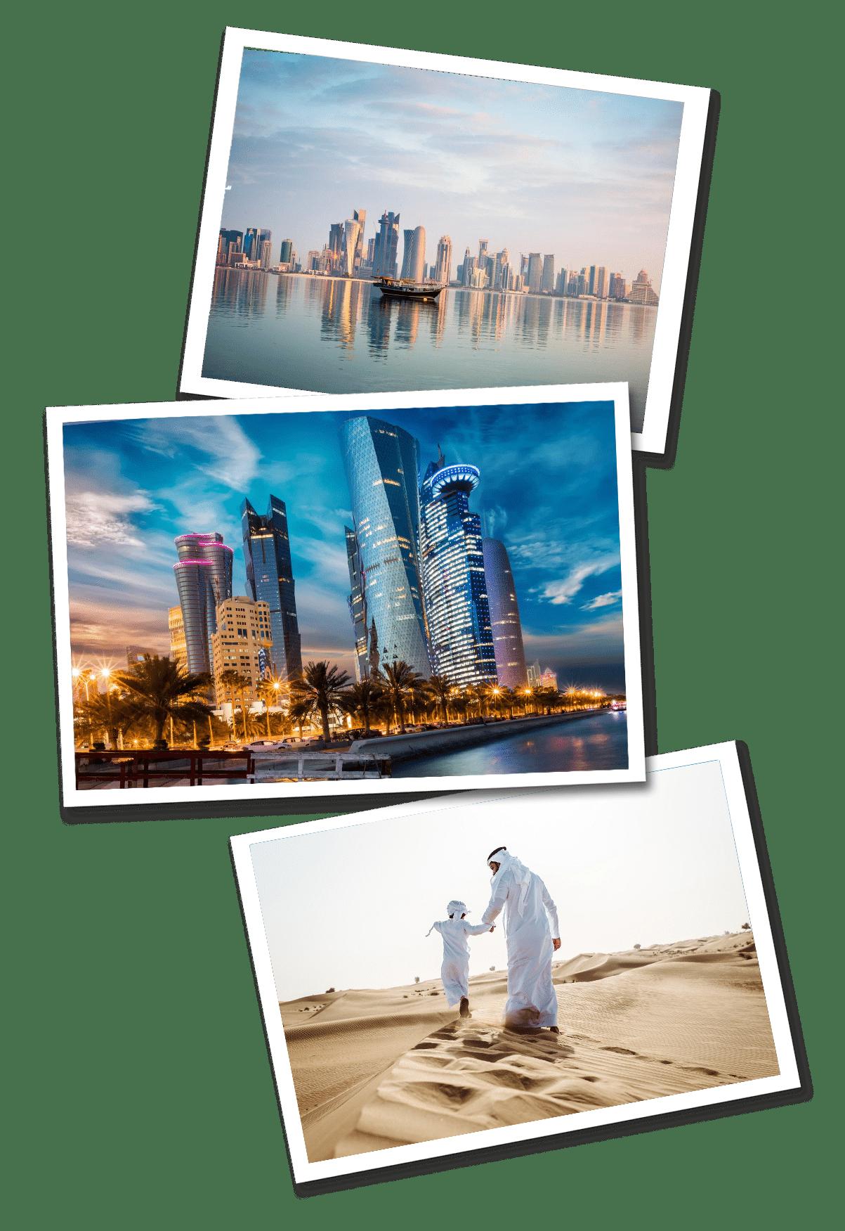 Qatar postcards