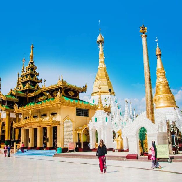 shwedagon pagoda myanmar temple asia travel guide
