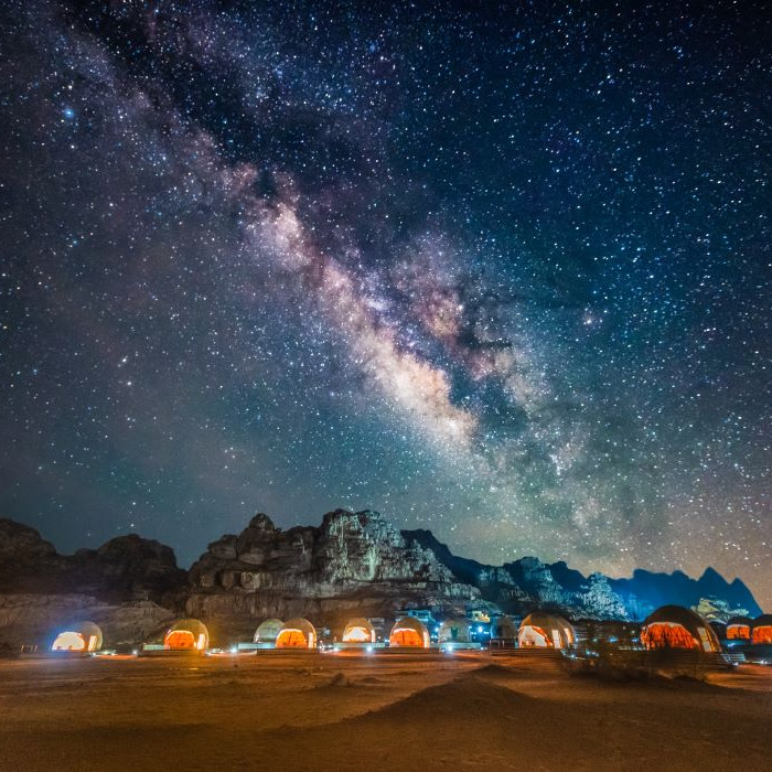 wadi rum camp jordan