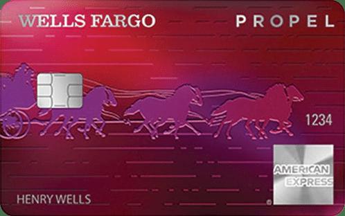 wells fargo propel american experess