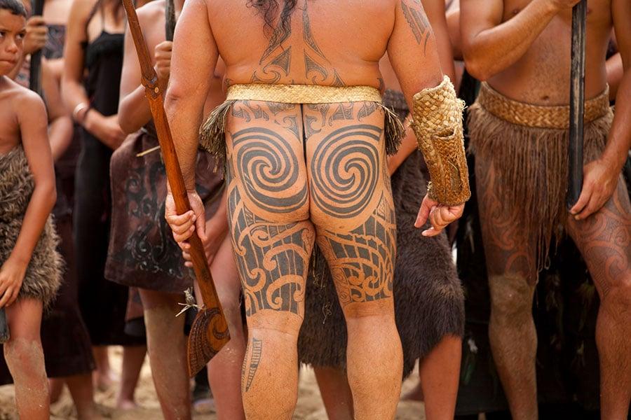 Ta Moko Tattoo Maori