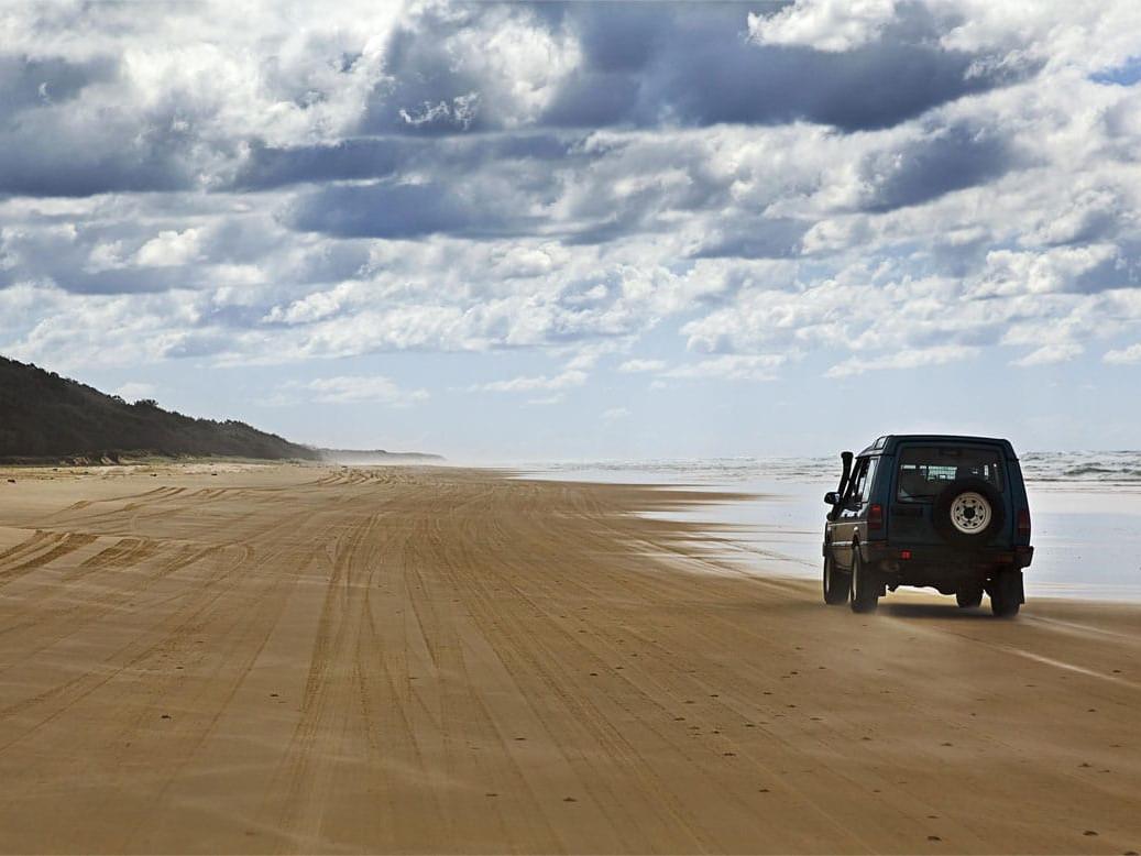 75 miles beach Fraser Island