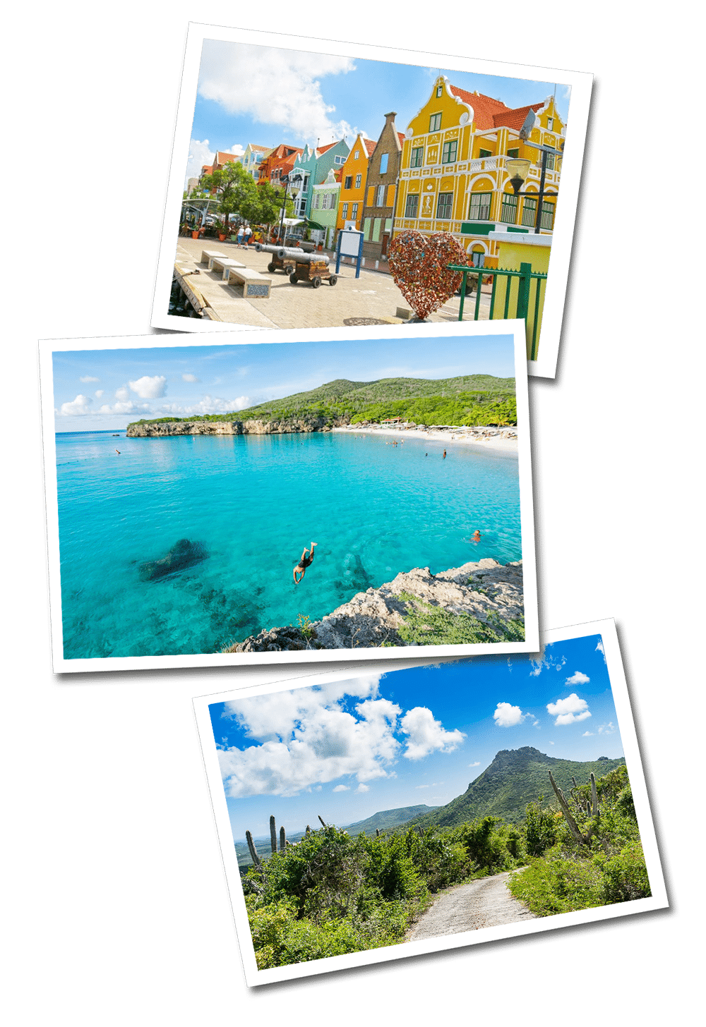Curacao postcards