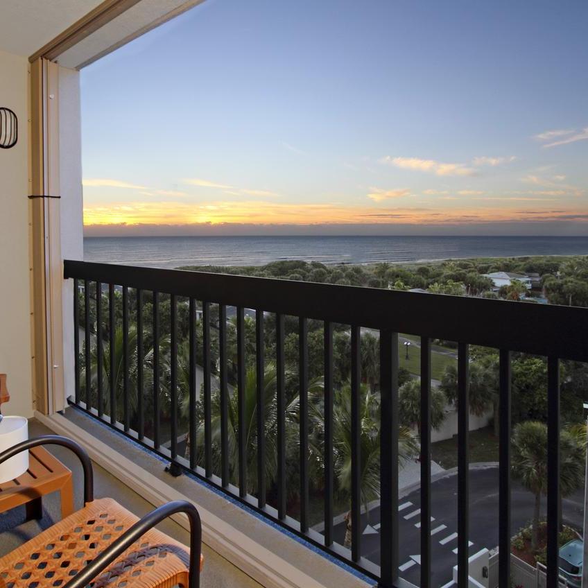 Hampton Inn Cocoa Beach Balcony