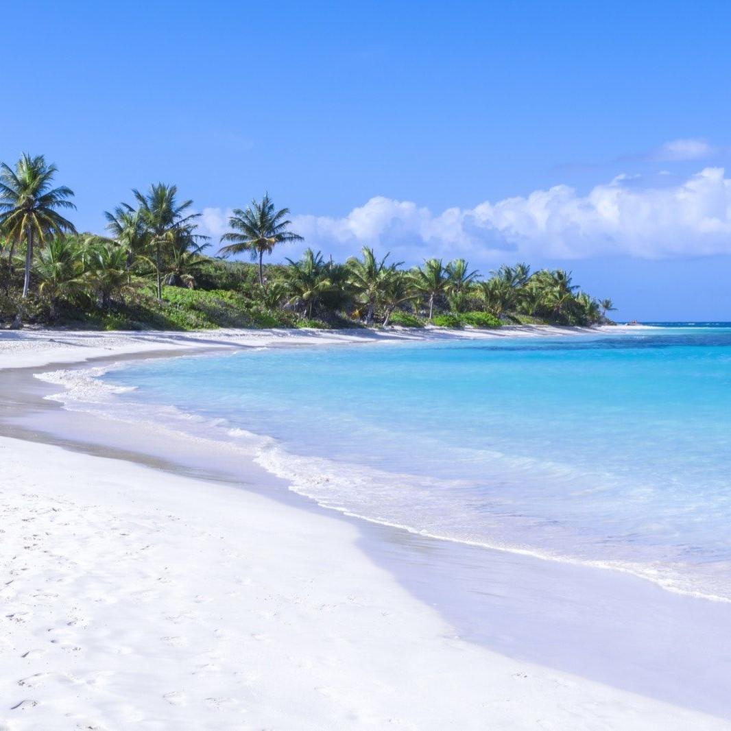 Isla Culebra Playa Flamenco Puerto Rico